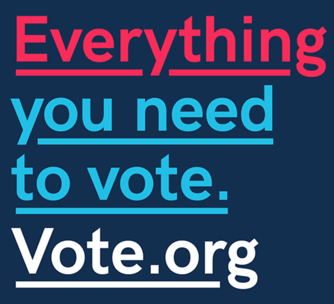 Everything you need to vote at vote.org